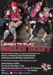 Canberra - fresh meat roller derby intake